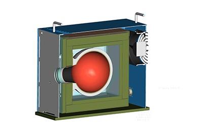 MIKRON黑体炉腔体结构图